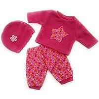 Handarbeit Puppenkleidung 43 cm passend für zb Baby Born Bekleidung Kleidung 44
