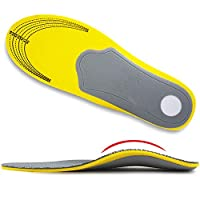 Ailaka Orthotic Cushioning Arch Support Shoe Insole, Unisex Daily Sports Insole for Flat Foot Plantar Fasciitis