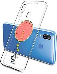 Oihxse Funda Samsung Galaxy S11 Plus, Ultra Delgado Transparente TPU Silicona Case Suave Claro Elegante Creativa Patrón Bumper Carcasa Anti-Arañazos Anti-Choque Protección Caso Cover (A3)