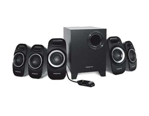 Creative-Inspire-Surround-Speaker-System-with-Wired-Remote-Control-for-Music-Movies-and-Games-Black