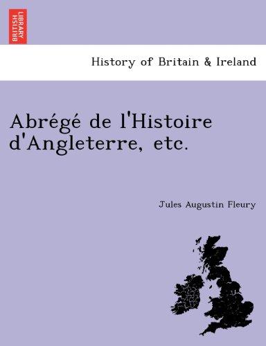 Abre GE de L'Histoire D'Angleterre, Etc.