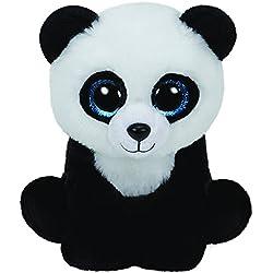 TY - Classics Ming, panda de peluche, 15 cm, color negro (42110TY)