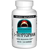 Source Naturals L-Tryptophan, 500 mg, Capsules, 120 capsules