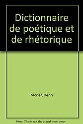 Dictionnaire de poétique et de rhétorique