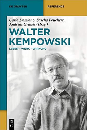 Walter-Kempowski-Handbuch (De Gruyter Reference)