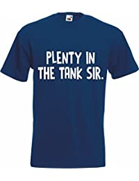 PLENTY IN THE TANK SIMPLY LOVELEH Lovely T-Shirt TShirt Adult Mens Rude House