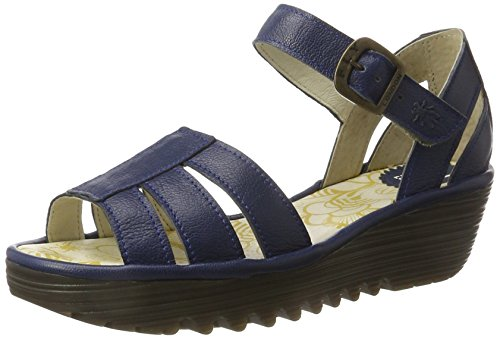Fly London Rese730fly, Heels Sandals Donna Blu (blue 002)