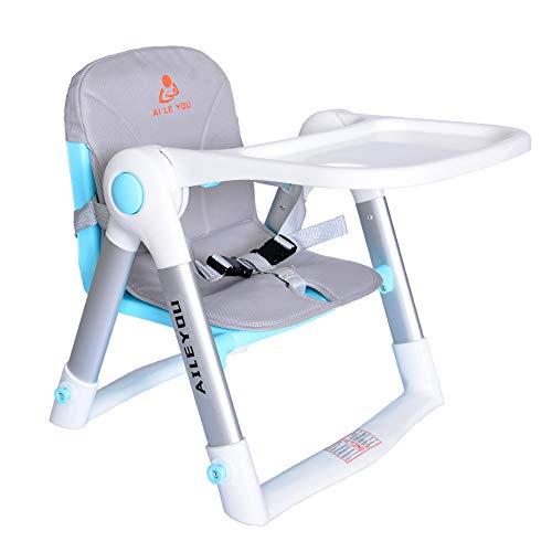 Baby dining chair Kind Kind Kind isst Stuhl, zusammenklappbarer tragbarer Sicherheitsstuhl IKEA/Farbe: A