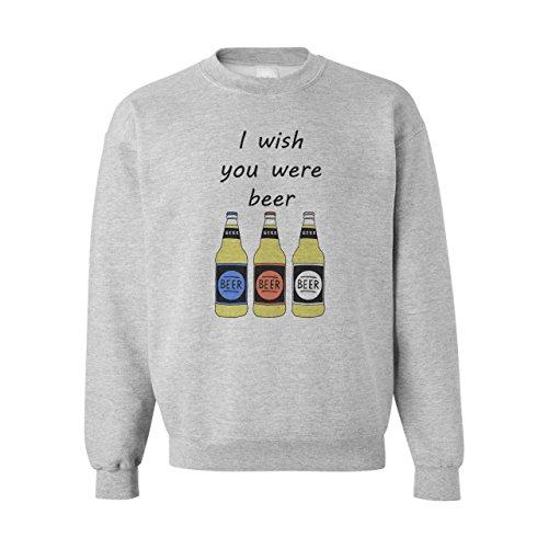 I Wish You Were Beer XXL Unisex Sweater
