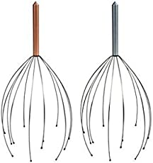 GIABELLA Hand Held Scalp Head Massager - Set Of Two