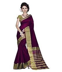 Buyonn Women'S Cotton With Blouse Piece( Ofs103-Pink11, Pink ,Free Size)