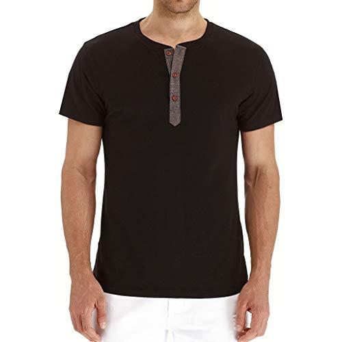 BURFLY2019 männer Kleidung Button Splash Tinte einfarbig 3D Druck T-Shirt Kurzarm T-Shirt Shirt Shirt