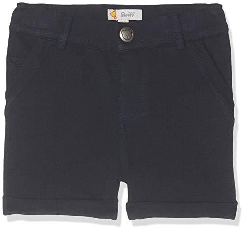 Steiff Jungen Shorts, Blau (Black Iris 3032), 98