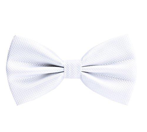 Tragen Bow Tie Tuxedo (Männer Klassische Pre-Tied Bow Ties Formal Tuxedo Bowtie Einstellbare Länge für Hochzeit Fancy Plain Bowties Krawatte)