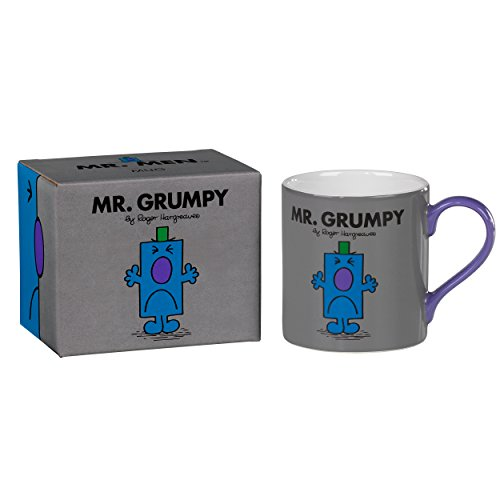 Mr Grumpy - Full Colour Mr Men And Little Miss Mug (Frown Mug)