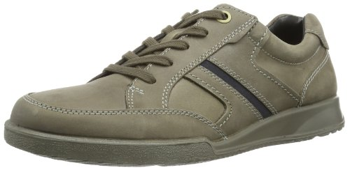 Ecco Transporter Black/Warm Grey Oil N/Oil Su, Casual uomo, Grigio (Grau (WARM GREY/MARINE 58529)), 42