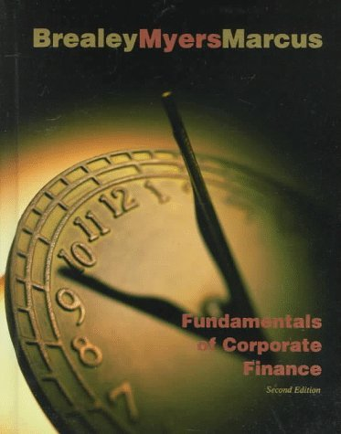 Fundamentals of Corporate Finance by Richard A. Brealey (1998-04-28)