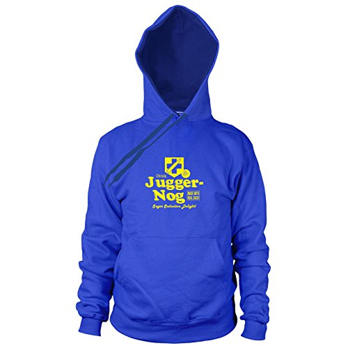 Preisvergleich Produktbild Juggernog - Herren Hooded Sweater, Größe: M, Farbe: blau