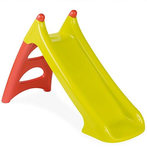 Rutsche in grün/orange mit Wasseranschuss • Kinderrutsche Wasserrutsche Babyrutsche Garten Kinder Spielzeug