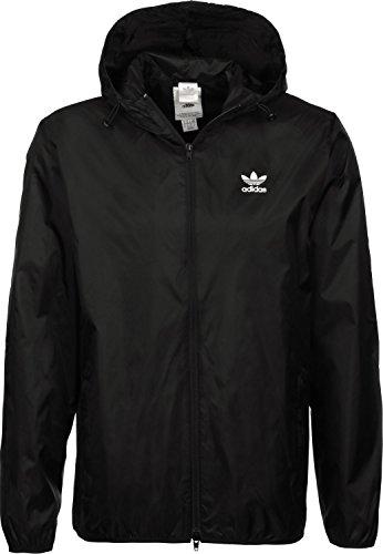 adidas Originals Trefoil Windbreaker Herren-Jacke DH5807 Black Gr. XS