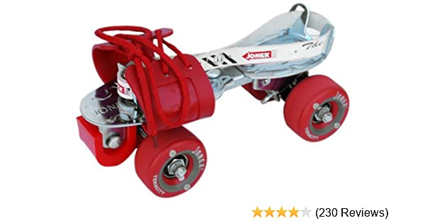 4e56b2cfed6 Buy Jonex Tenacity Roller Skates (Red) Online at Low Prices in India -  Amazon.in