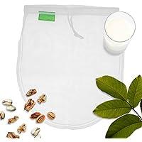 GOURMEO bolsa de leche vegetal para leche vegana leche de nueces y leche de avellana, filtro malla I 2 años de garantía de satisfacción