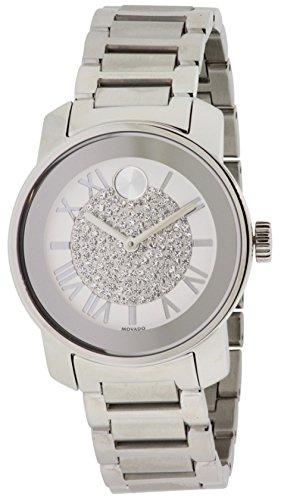 Movado Bold 3600254–Montre bracelet pour femme, bracelet en acier inoxydable couleur argent