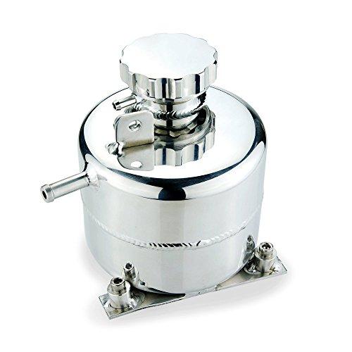 Heinmo Auto Radiateur liquide de refroidissement d'extension en alliage Réservoir pour 2002-2006 Mini Cooper S 05-08 R52 Argent