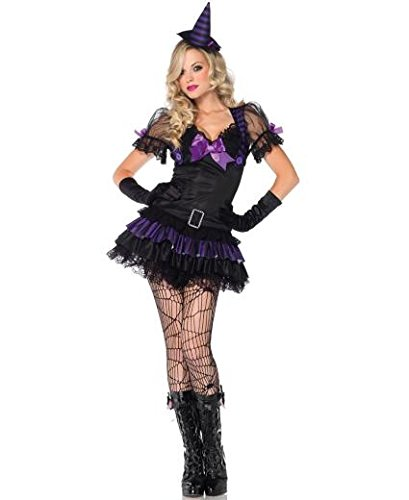 Leg Avenue Black Magic Babe Kostüm S/M, 1 Stück Leg Avenue Magic