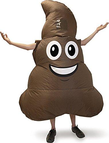 Emoji Poop Inflatable Adult Costume One (Inflatables)