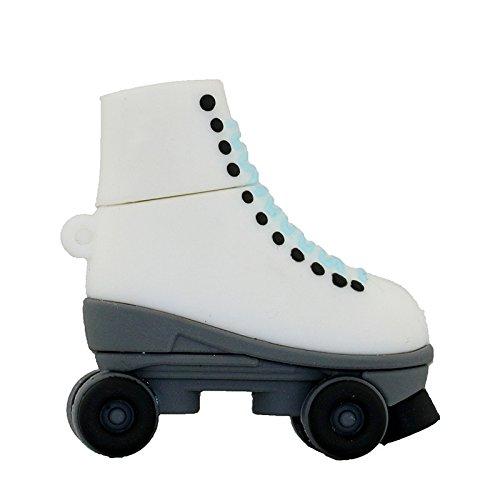 Black Ice Skates Pen Drive 16 GB USB-Sticks Pendrive Roller Skates Schuhe USB Flash Disk Memory Stick