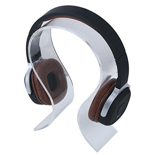 Acryl-Kopfhörer-Ausstellungsstand - Aolvo Portable Universal-Gaming-Headset-Halter Kopfhörer mit Halterung für Xbox One PlayStation Wireless Stereo Headset & More Panasonic Portable Headset