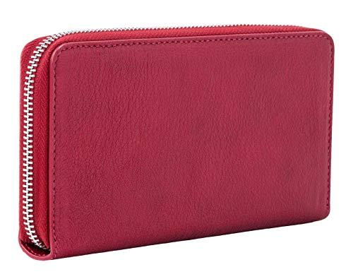 Liebeskind Berlin Damen Dive Bag 2-Gigi Wallet Large Geldbörse, 19 x 2 x 10 cm, Rot (Dahlia Red)