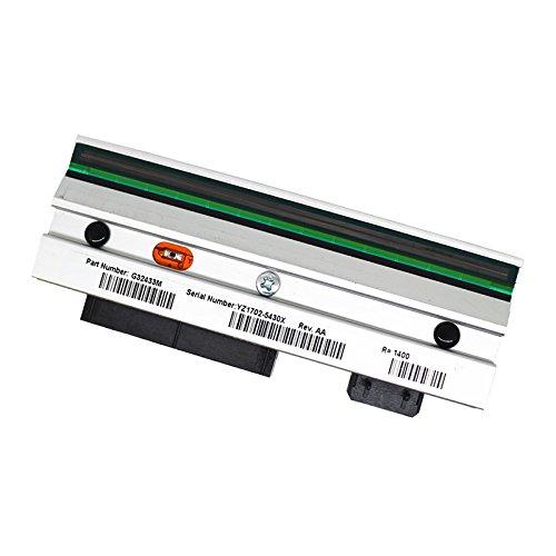 Druckkopf für Zebra 105SL Thermal Barcode Label Drucker 305dpi G32433M (Zebra-barcode-drucker-zubehör)