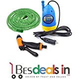 Three Secondz Portable Home And Car Electric Pressure Washer With Water Gun With 10m Special Hose Pipe Submersible Pumps