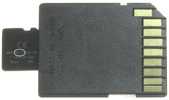 MICRO SD Card 512MB (TransFlash)