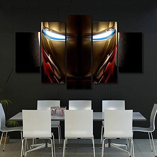 ZEMER Leinwand Kunstdruck,Marvel Avengers Super Hero Wandkunst Bilder Kunstwerk Für Home Decor,B,S (Marvel Home Decor)