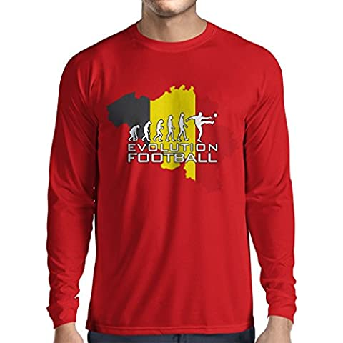 N4492L Camiseta de manga larga Evolution Football - Germany