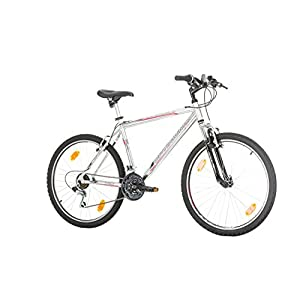 "41iweXaPCKL. SS300  - CoollooK OPTIMUM Bicycle 26"" MAN, mountain bike, ALLOY wheels 18 speed Shimano WHITE GLOSS"