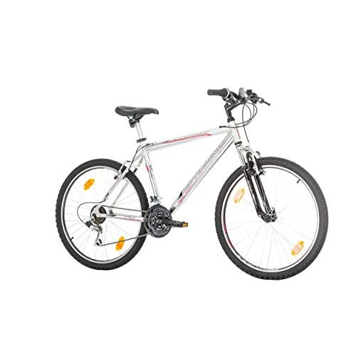 "41iweXaPCKL. SS500  - CoollooK OPTIMUM Bicycle 26"" MAN, mountain bike, ALLOY wheels 18 speed Shimano WHITE GLOSS"