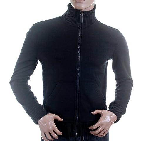 Armani Jeans pour homme Bleu marine/S6M35 AJM1171 Sweat zippé - Bleu - Medium