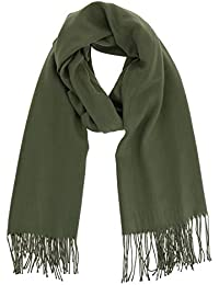 FASHIONGEN - Echarpe pashmina homme et femme douce en laine, BACHRA 4e738bfc113