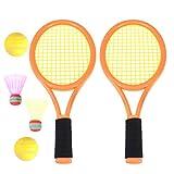 Toyvian I Bambini Badminton Racchetta Palla Set Bambini Giocano Gioco Giocattolo