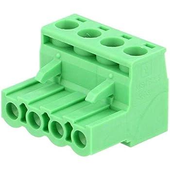 796634-3 Pluggable Terminal Block Plug Female Straight 0.03-2.5mm2