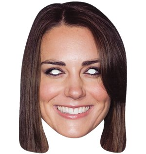 Middleton Hat Kate (Kate Middleton Mask (Maske/Maske))