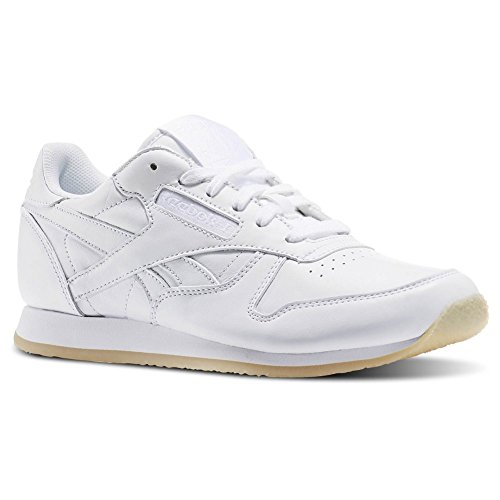 Reebok Classic Leather Crepe Donna Sneaker Bianco Bianco