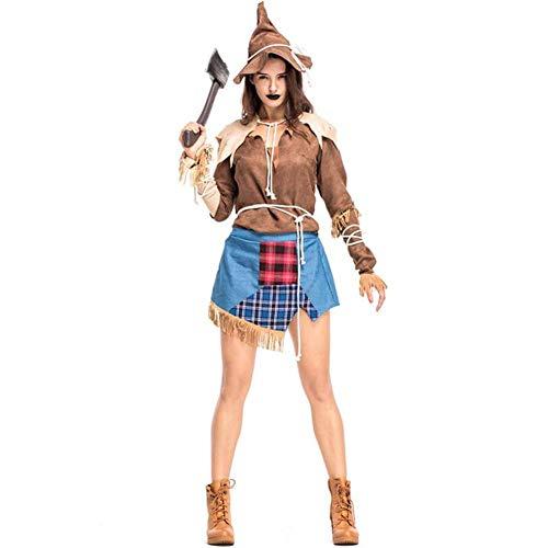 Kostüm Erwachsene Für Vogelscheuche - ASDF Vogelscheuche Drama Kostüm Halloween Kostüm Anzug Hexenkostüm