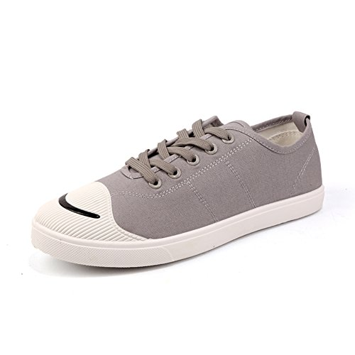 the latest e3ed7 1a3e3 Huan Toile Chaussures Hommes Chaussures De Toile Chaussures De Sport  Formateurs Chaussures De Gymnastique En Plein