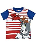 Tom et Jerry Baby Jungen (0-24 Monate) T-Shirt Gr. 80, rot/blau