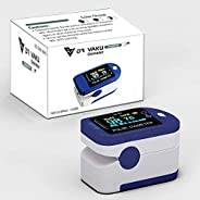 DR VAKU® DS301 Swadesi Finger Tip Pulse Oximeter, Multipurpose Digital Monitoring Pulse Meter Rate & SpO2